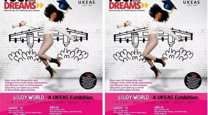 Golden Opportunity: Come fuel your dreams and aspirations – Attend the 12th UKEAS (Study World) International Education EXPO!