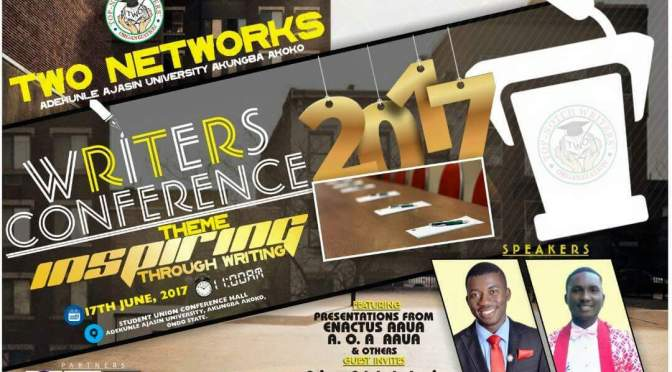 Attend: Writers' Conference 2017, AAUA